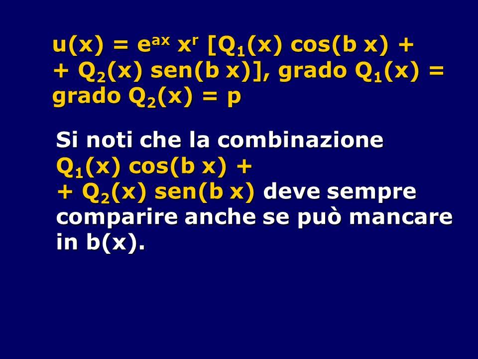 u(x) = eax xr [Q1(x) cos(b x) +